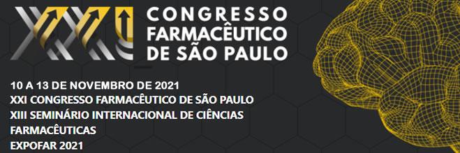 XXI Congresso Farmacêutico de São Paulo 2021
